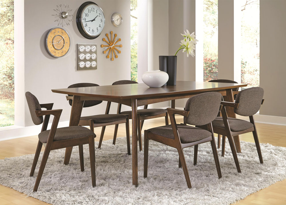 Contemporary Style Dining Table Set